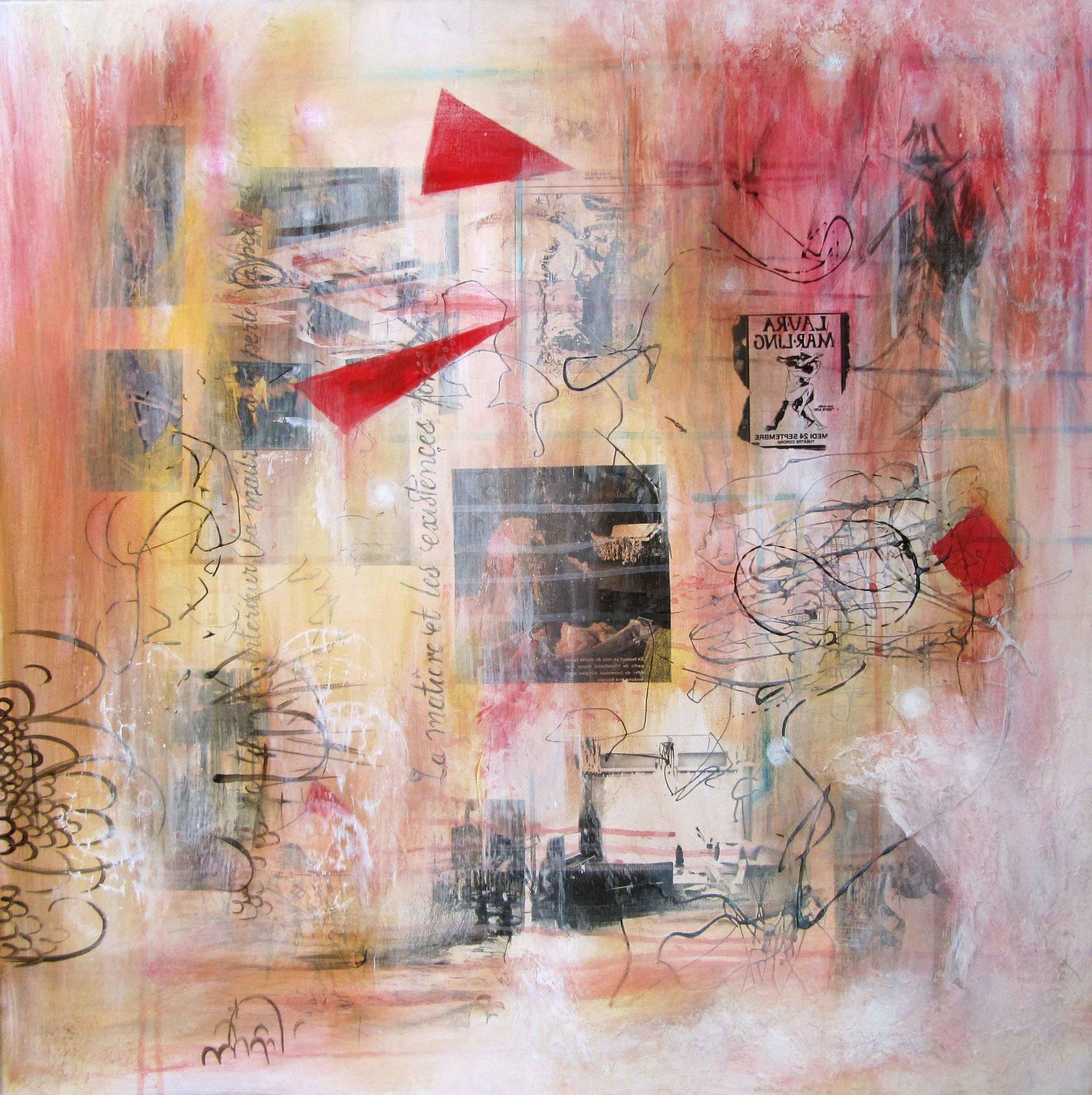 Composition I , par Mélissande Lauzon