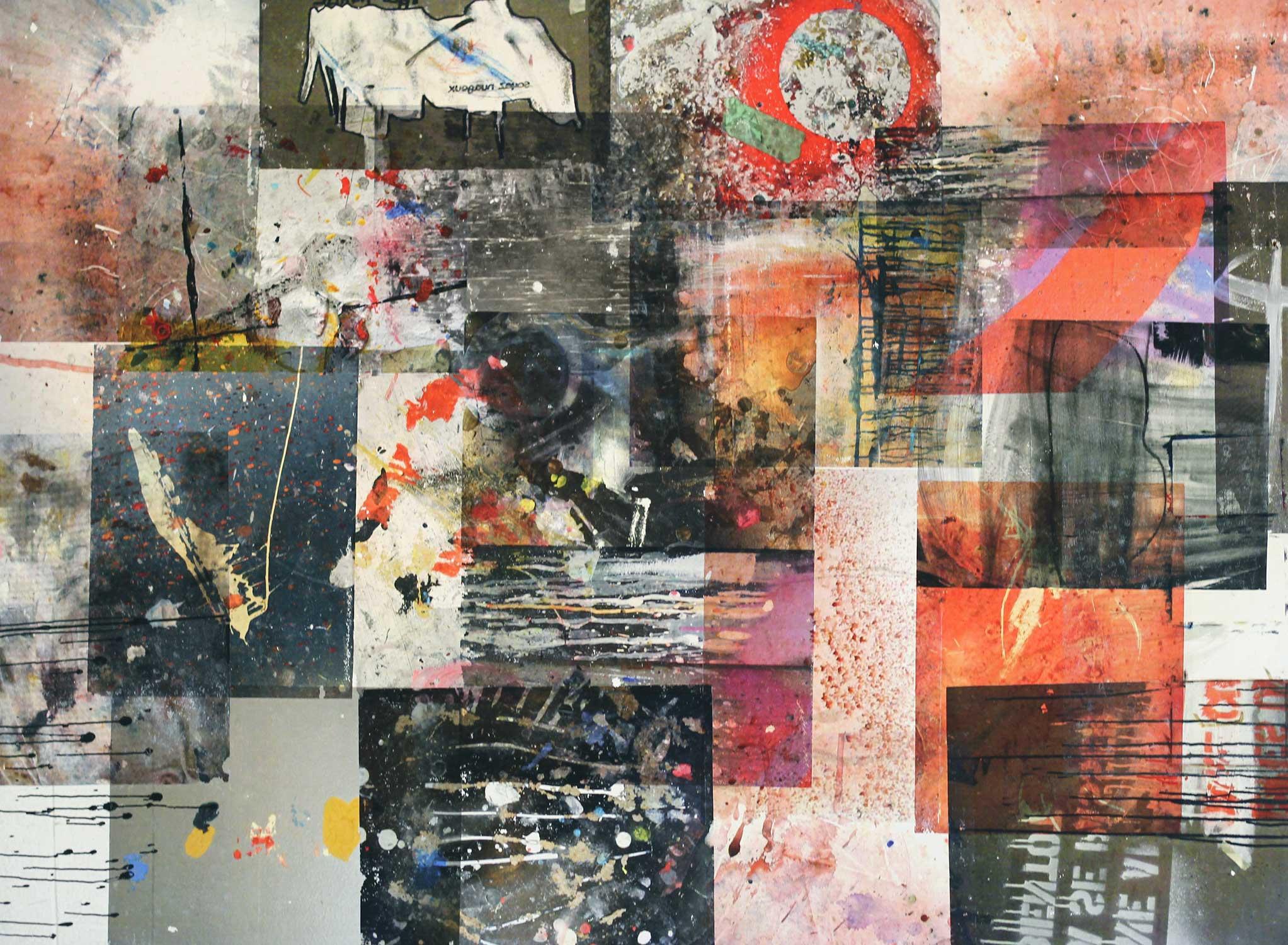 Peintures accidentelles, par Mélissande Lauzon