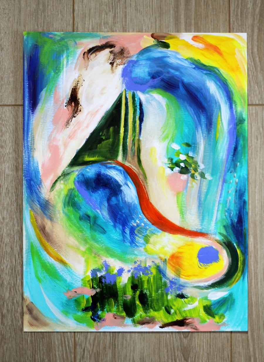 Langage du ciel, par Mélissande Lauzon