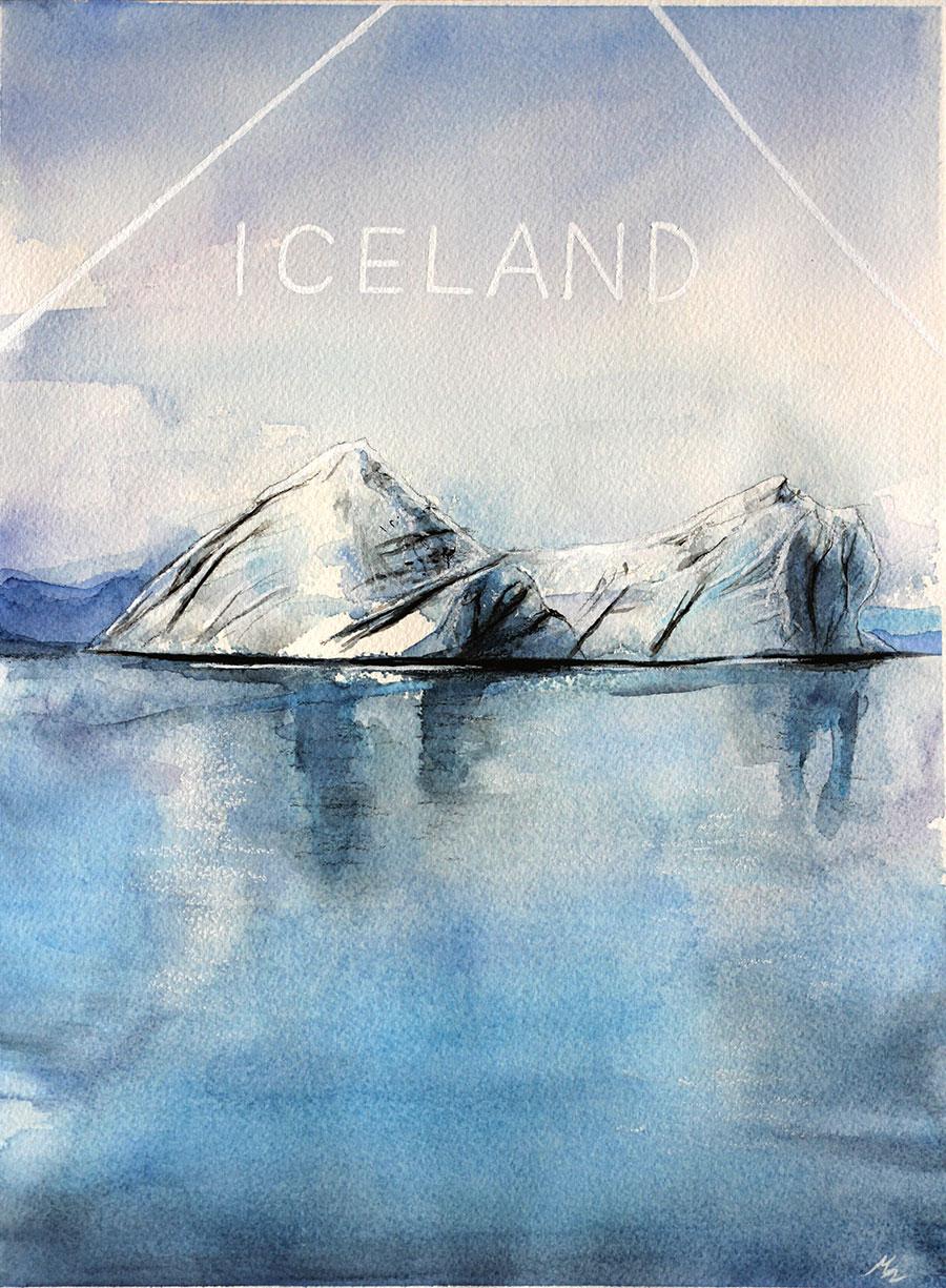 Iceland , par Mélissande Lauzon
