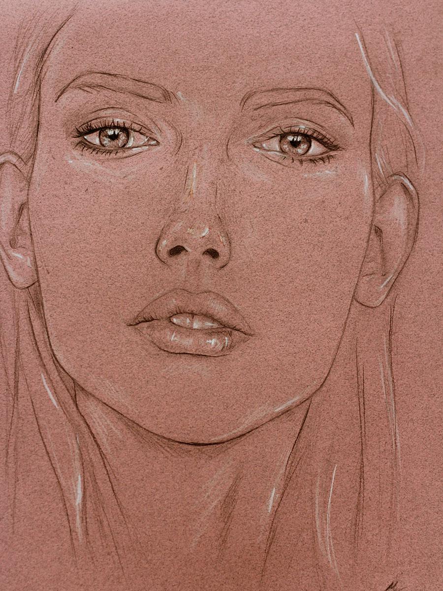 Lovely eyes,  par Mélissande Lauzon