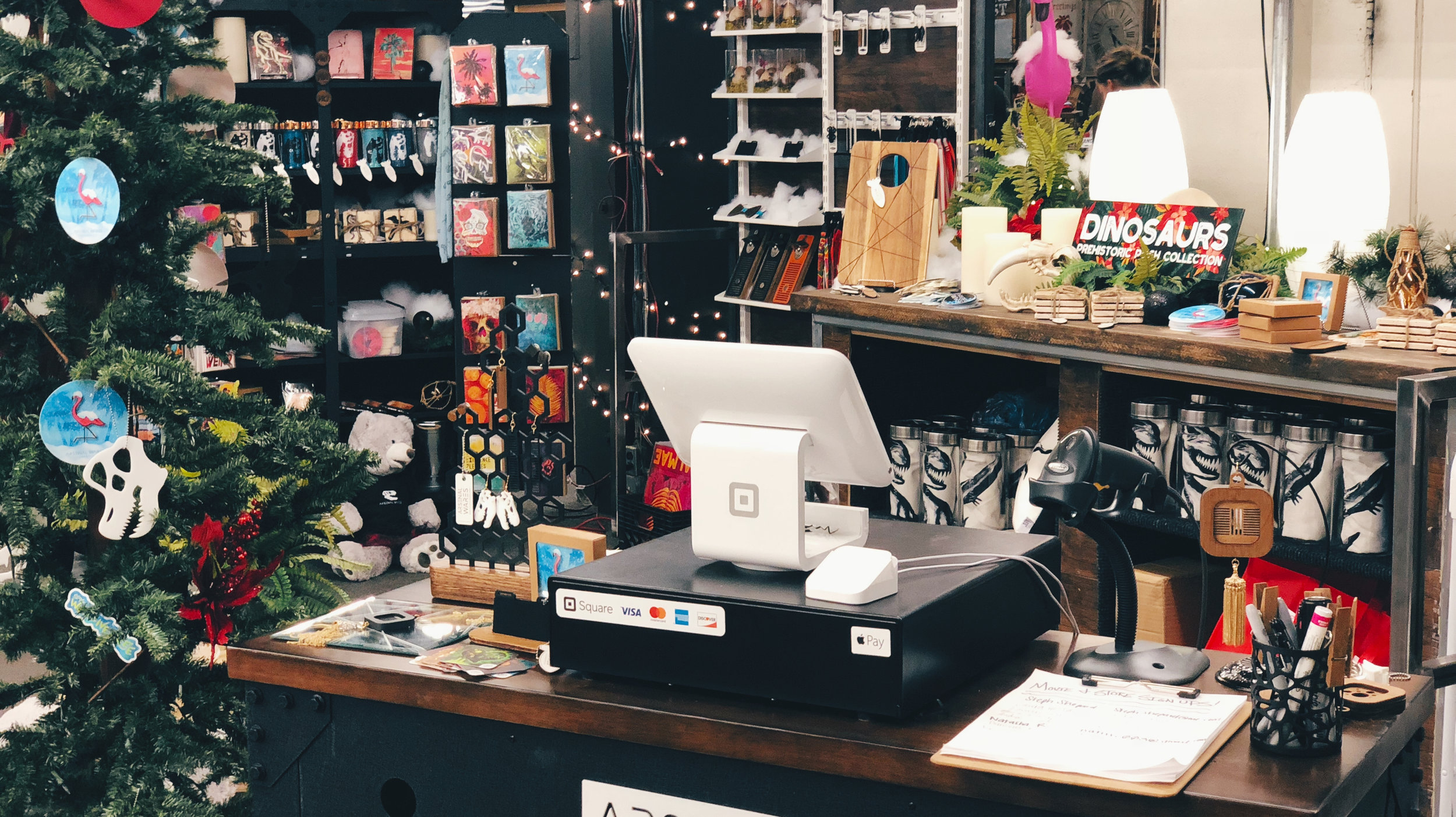 Arsenal Wares Pop Up Shop at the Denver Flea (Blake Shattuck, Savage Queen LLC)