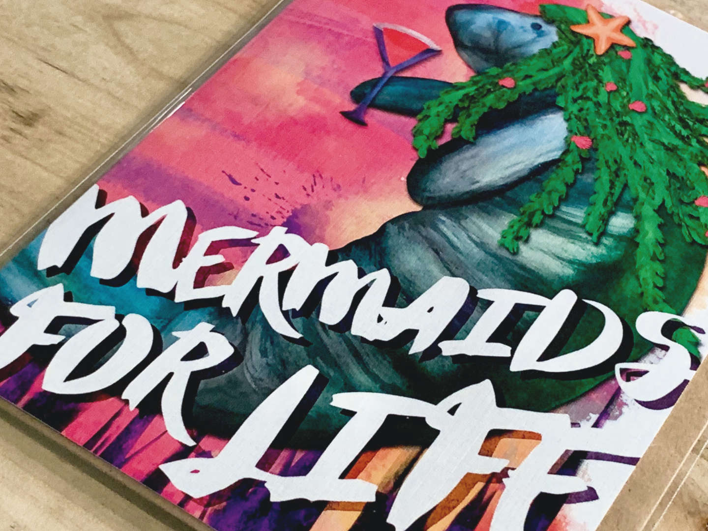 For The Relatable Mermaid.