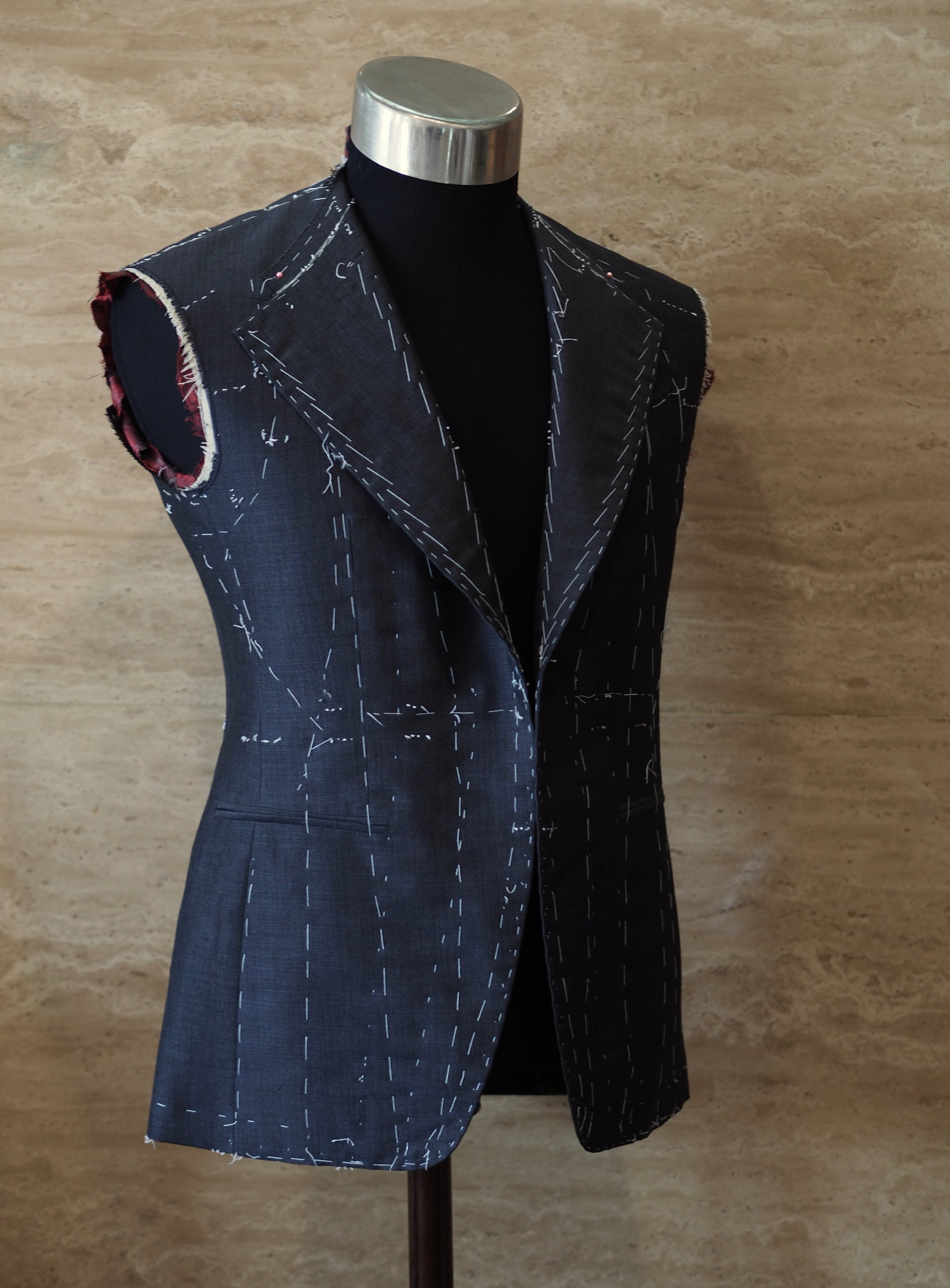 Wool with Mohair Suit