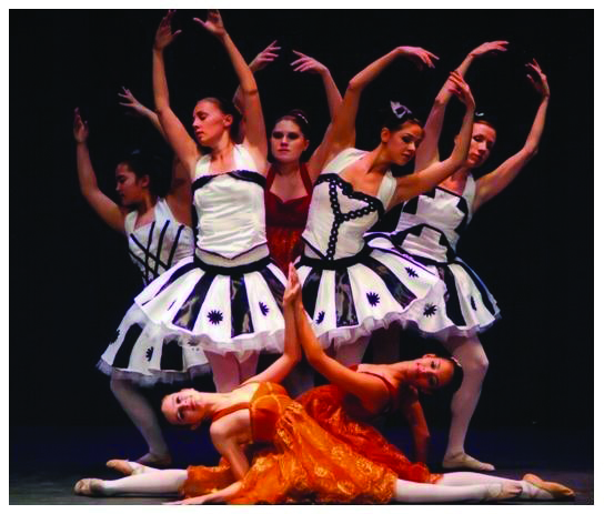 Lake Havasu Ballet    believes in high standards and yields impressive results. It is a comprehensive classical ballet training program for students from age four (pre-ballet) to adult, and up to pointeshoe level. A wide variety of enticing repertory is developed for performance purposes with an emphasis on beauty and form. Dancers have performed in full ballet costume both publicly and privately in Havasu for the last thirteen years. New dancers and students are welcome!  To join a class or book the ensemble contact Director/Choreographer Jeanne Fernando (928) 453-8337.