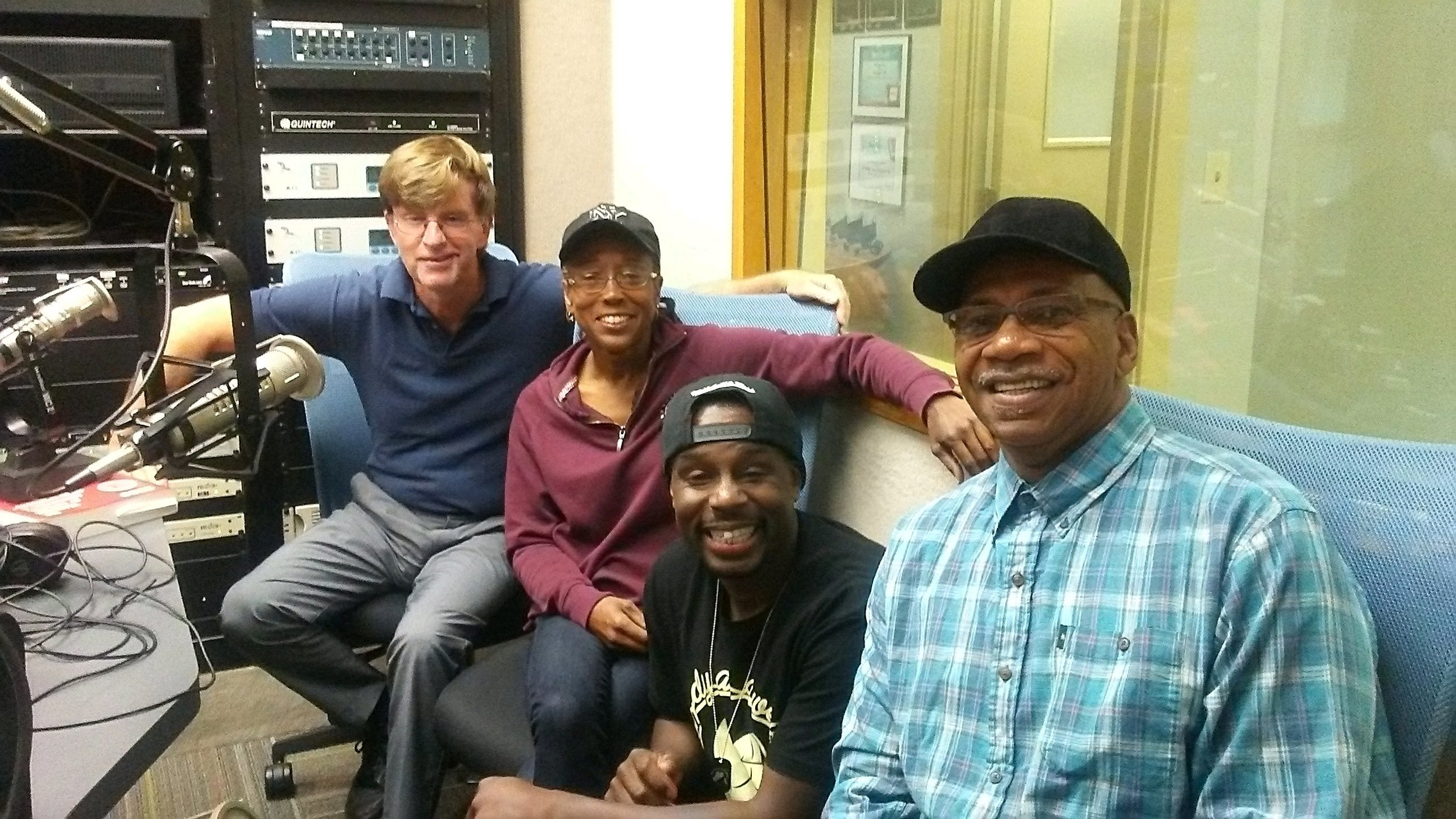 Interview with Kim Deshields, Tim Lovett of  Comedy as a Weapon  and Sam Jackson from the Northampton Recovery Center. Thanks Bob Flaherty for the opportunity to get the word out!