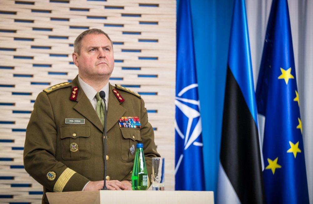 Kindral Riho Terras - Eesti Vabariigi Kaitseväe juhataja