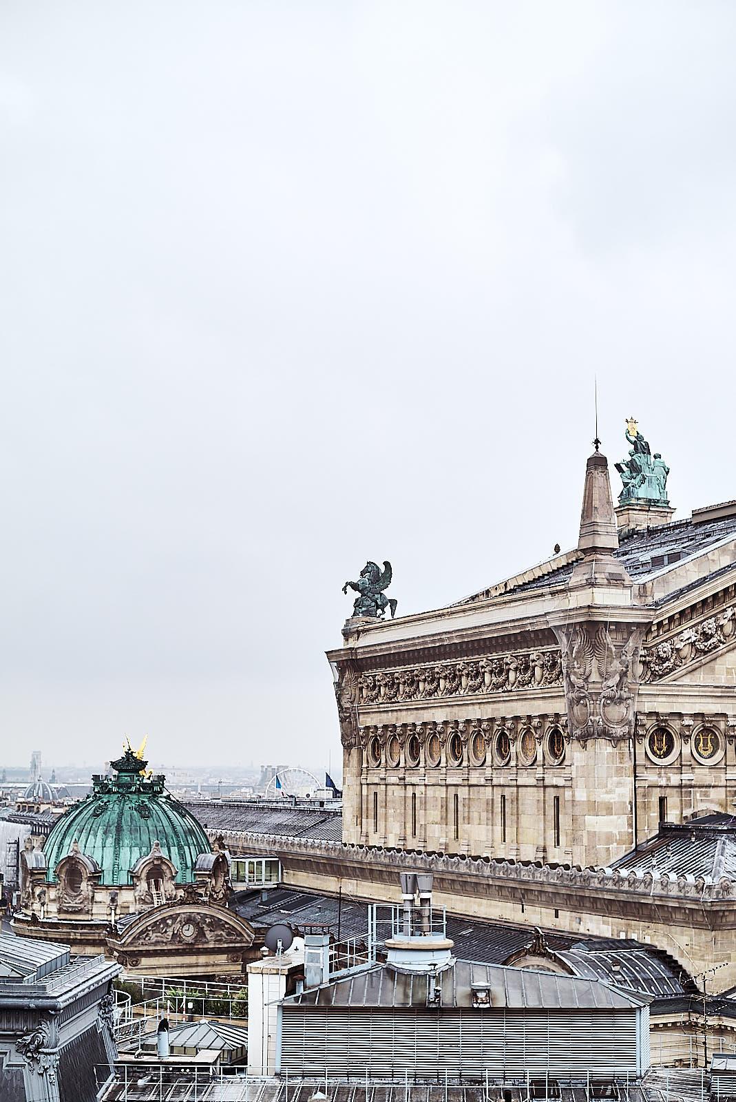 Lafayette Galeries rooftop
