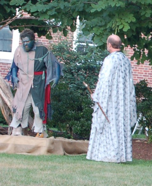 Greater Hartford Shakespeare Festival 2009 production of  The Tempest , featuring Geoffrey Sheehan and Michael Nowicki.