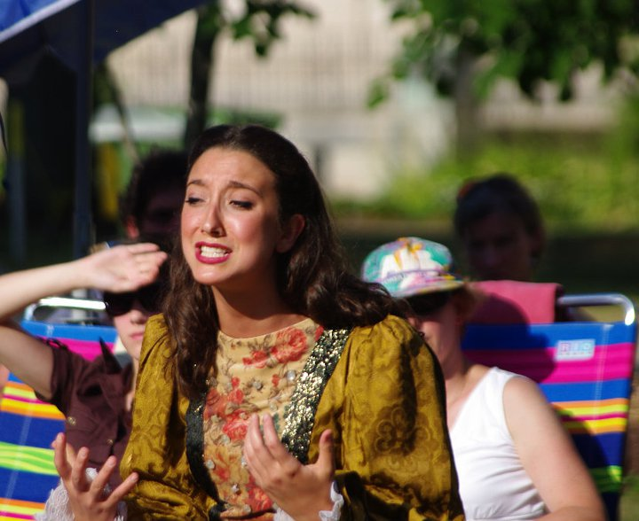 Greater Hartford Shakespeare Festival 2011 production of  Richard III , featuring Gabi Van Horn.