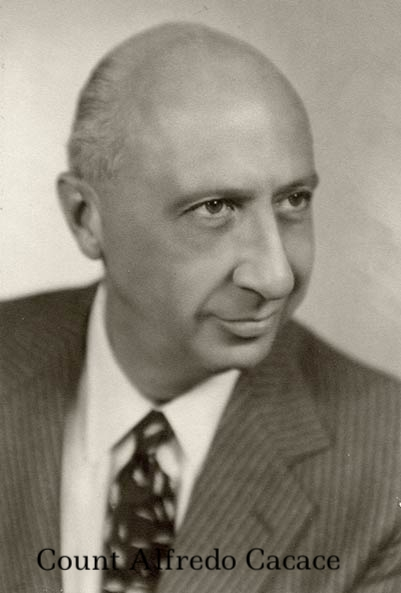Count Alfredo Cacace