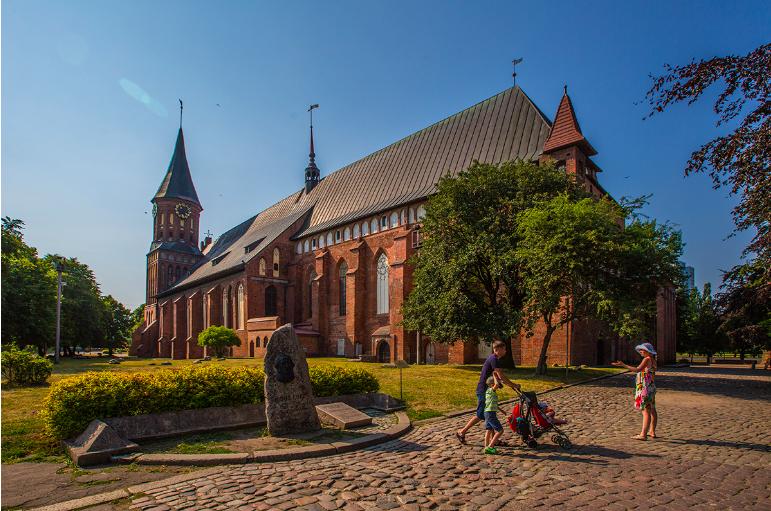 Königsberg Cathedral, Kaliningrad.  Source
