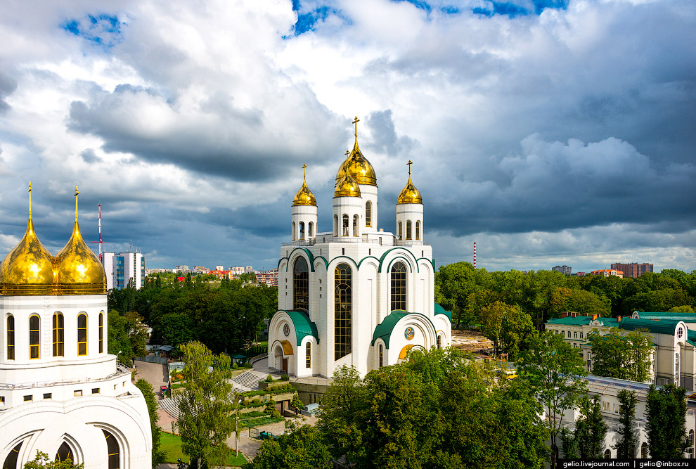 The Cathedral of Christ the Savior, Kaliningrad.  Source