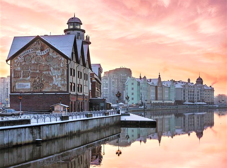 Fishing Village, Kaliningrad.  Source