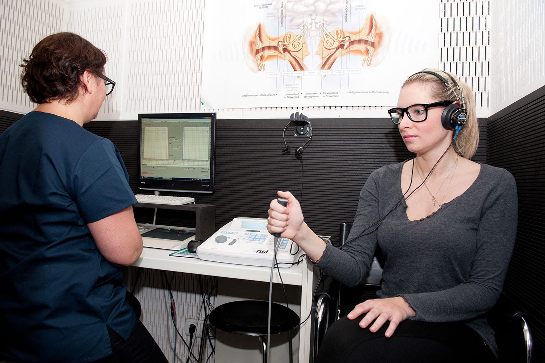 Audiologické vyšetření