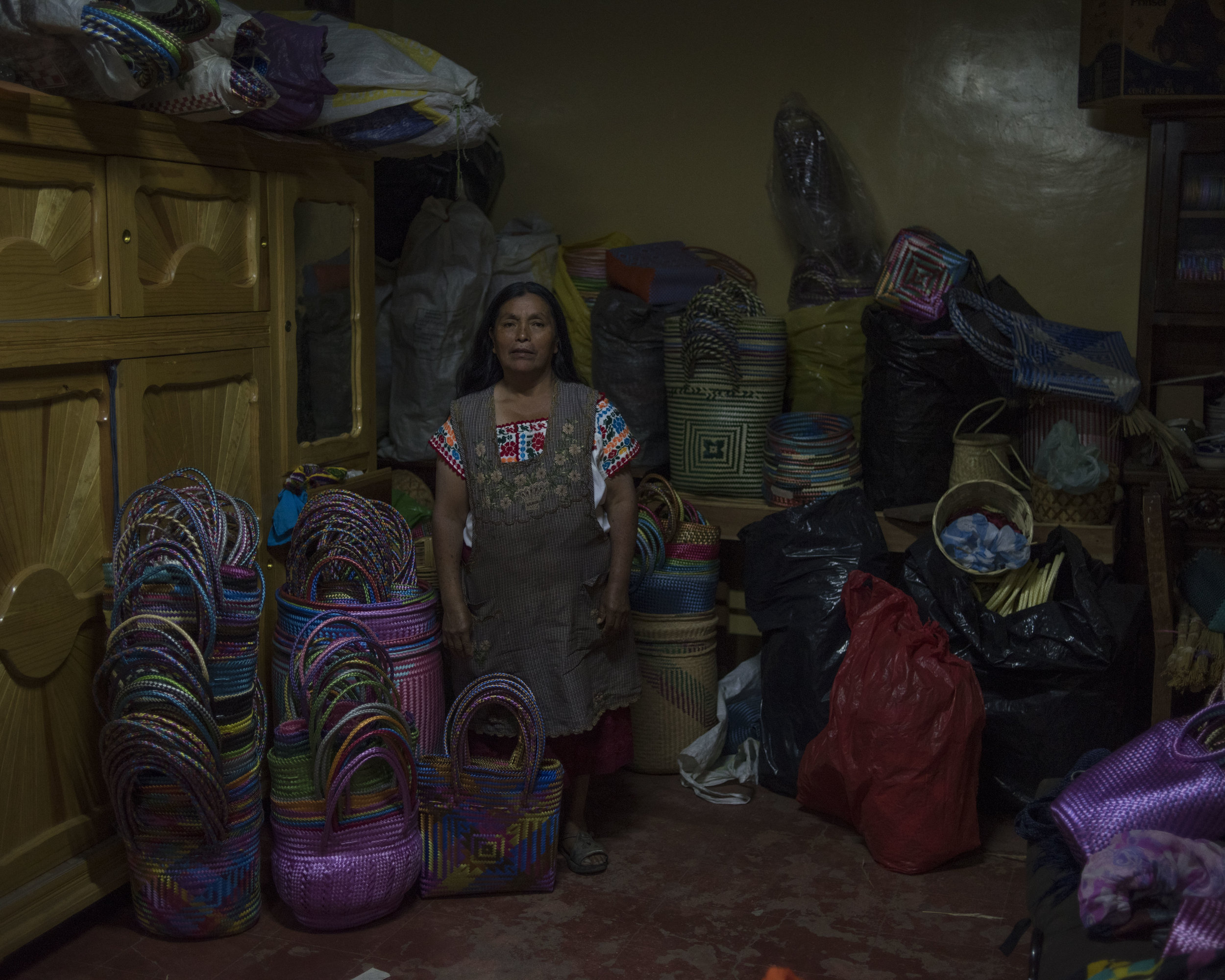 Antonia Vasquez Hernandez, Teotitlan, OAX.