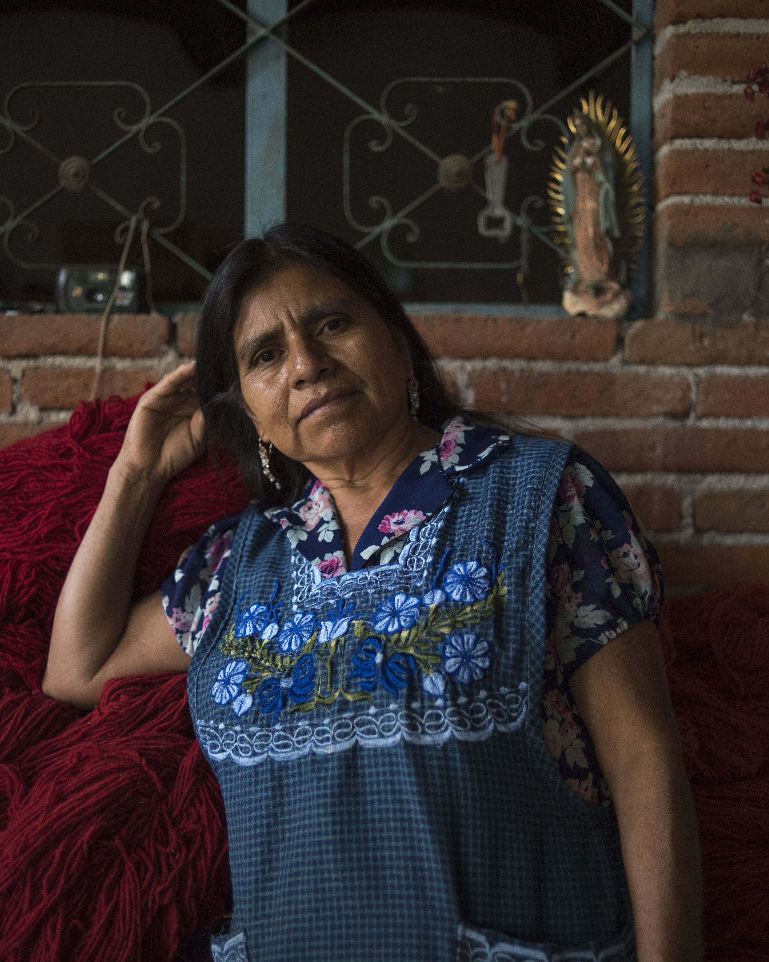 Antonia Martinez Hernandez, Teotitlan, OAX.