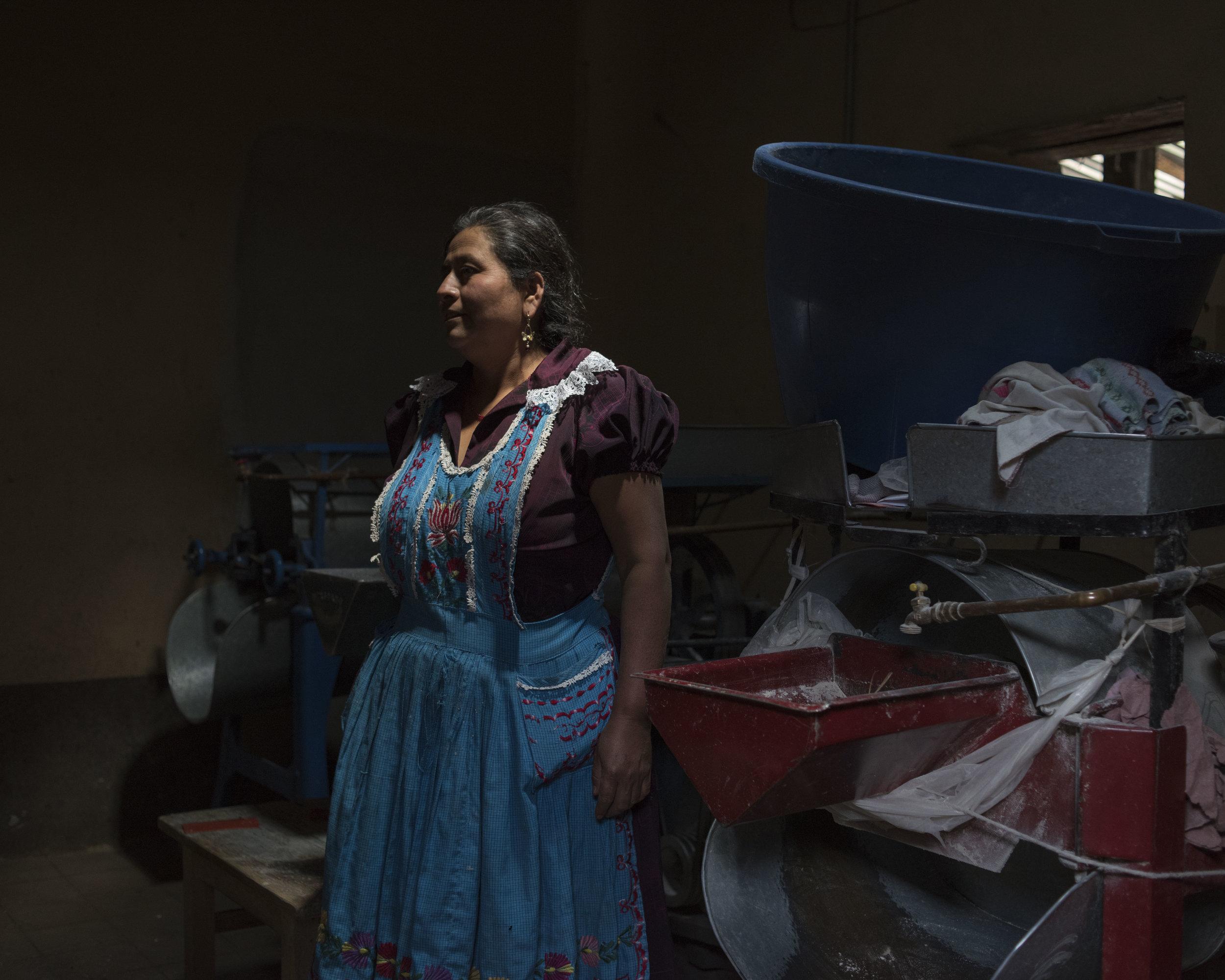 Lucia Hernandez Lopez, San Miguel, OAX.