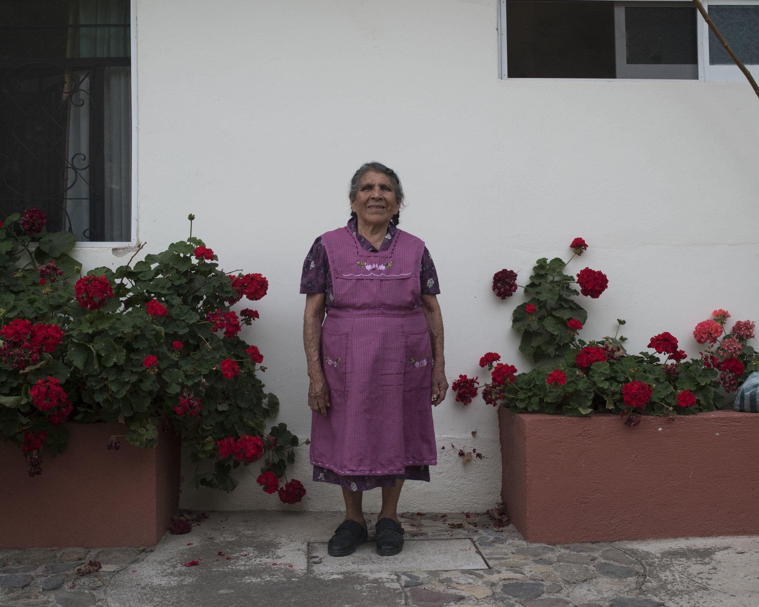 Magdalena Martinez, Teotitlan, OAX.