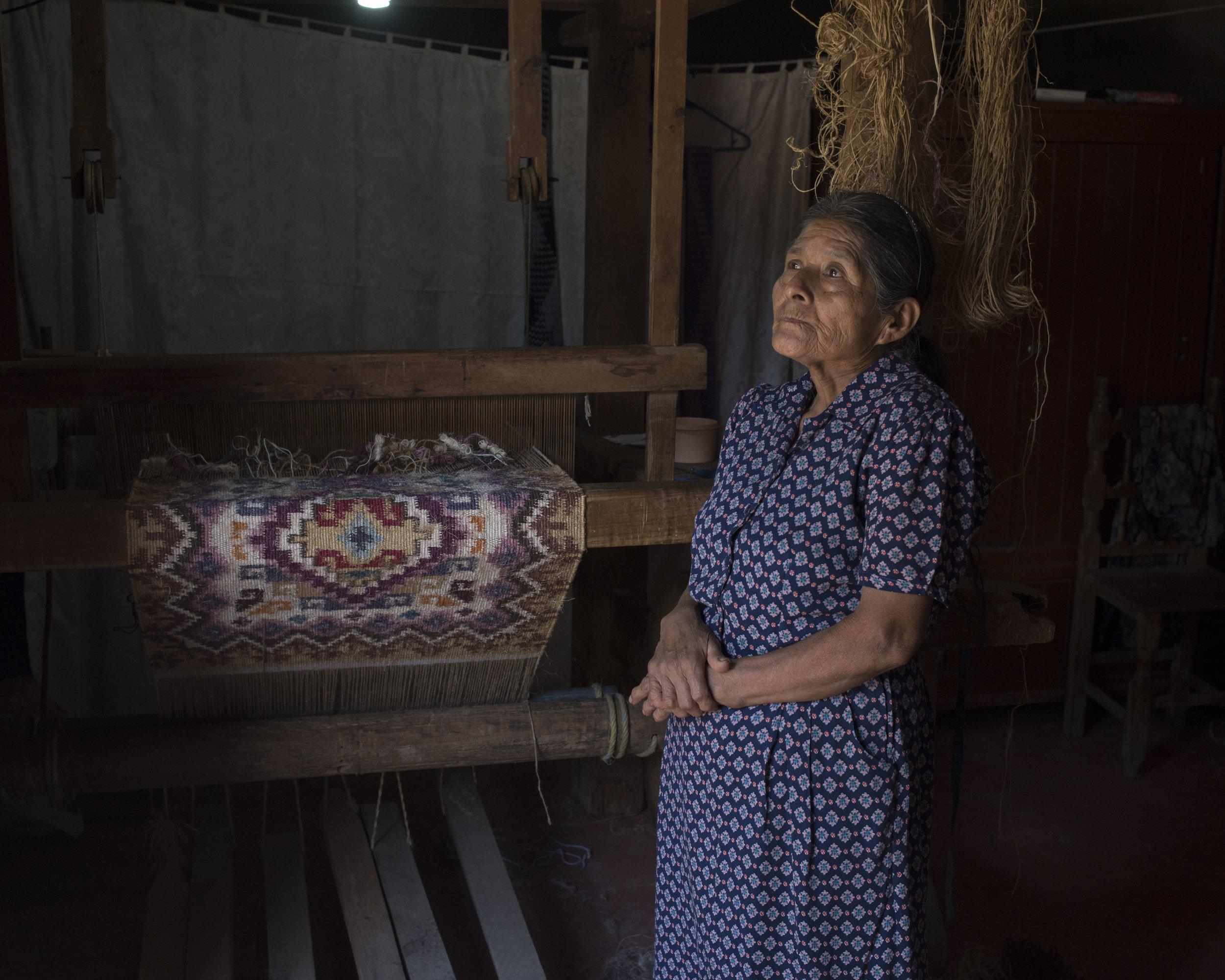 Maria Mendoza Conteras, Teotitlan, OAX.