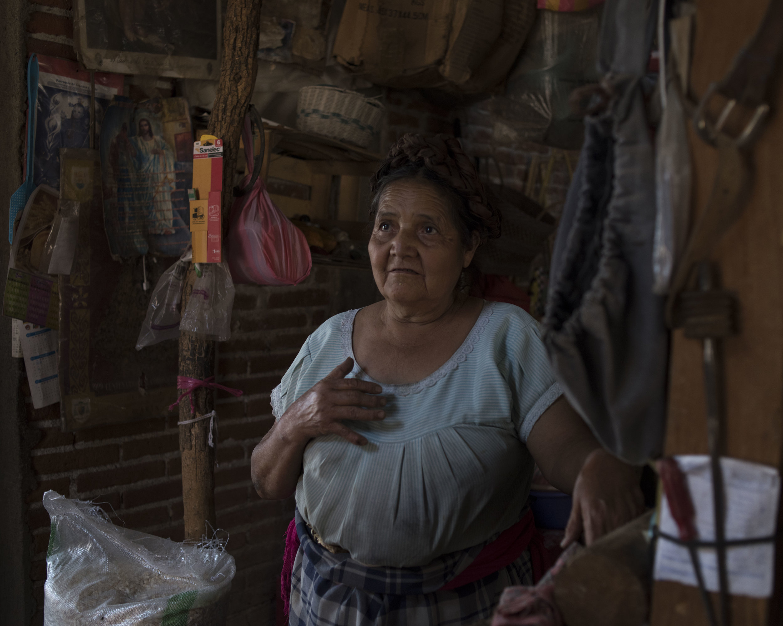 Petra Gonzalez Martinez, Teotitlan, OAX.