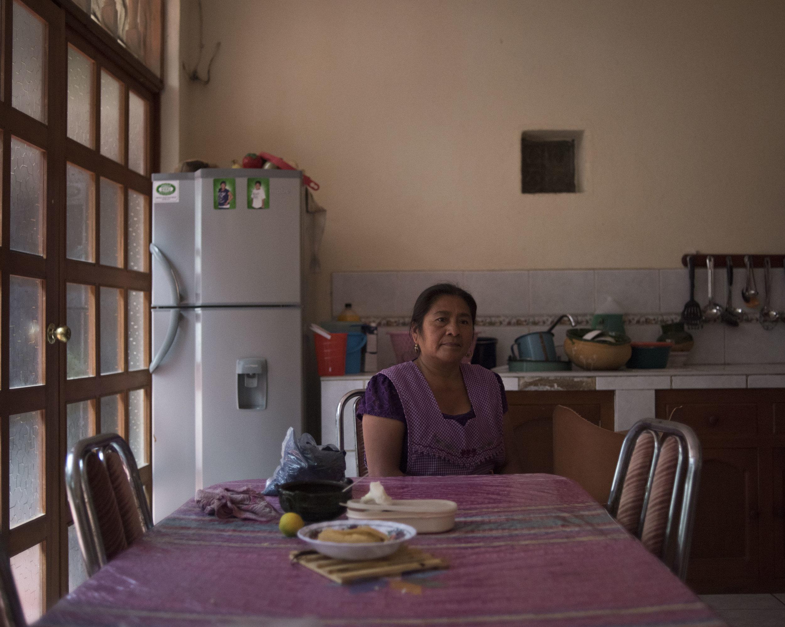 Rafaela Ruiz Gutierrez, Teotitlan, Oax.