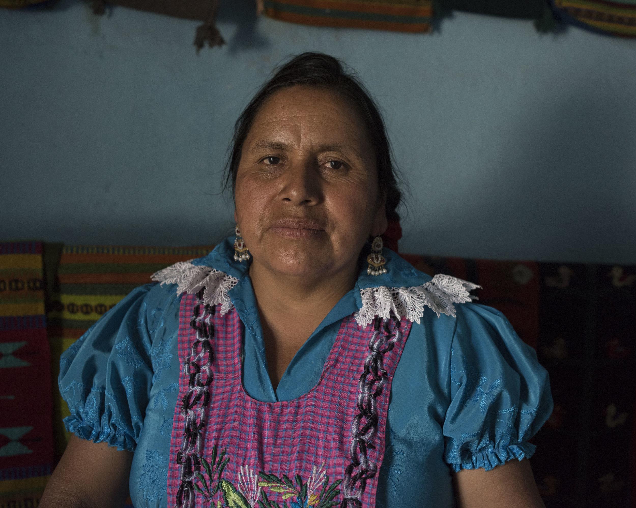 Honoria Hernandez, San Miguel, Oax.