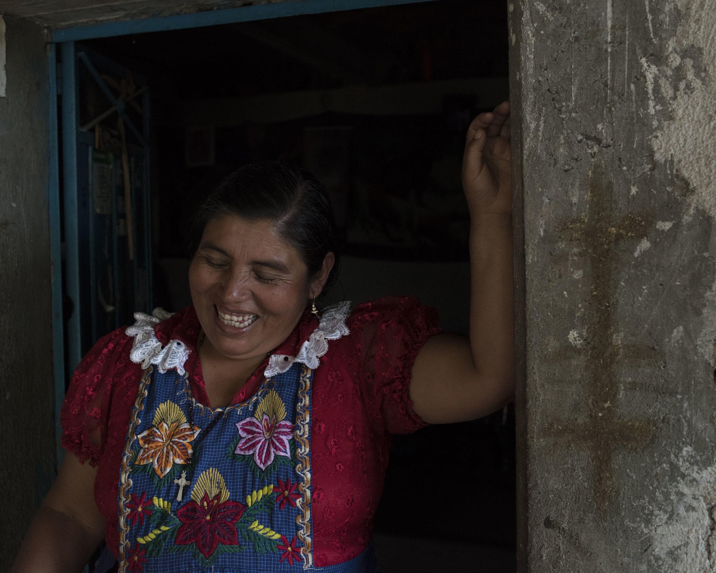 Rita Garcia Lopez, San Miguel, OAX.