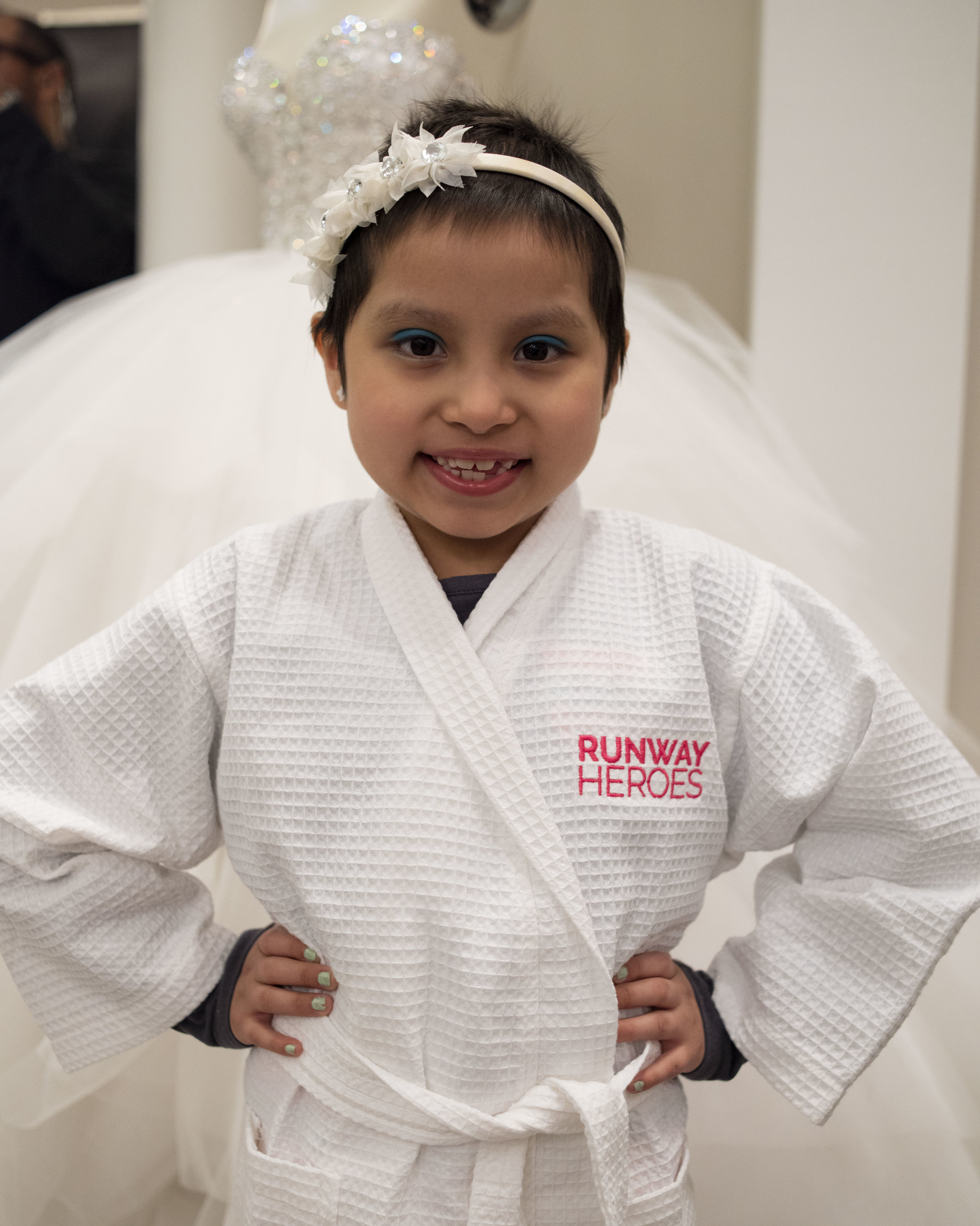RUNWAY HEROES… - is a non-profit organization that features children with cancer in fashion events. For more information please visit them at their website here.