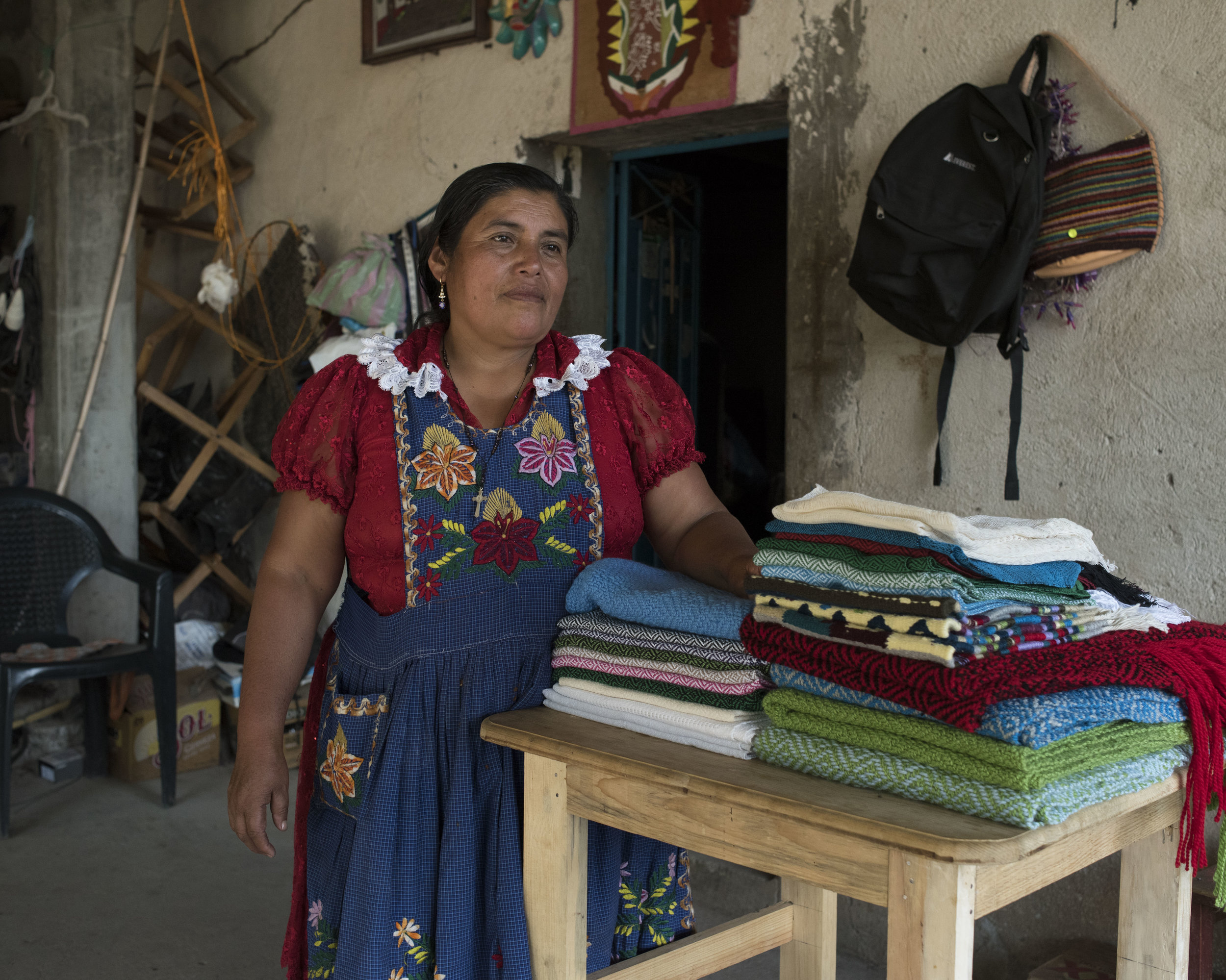 EN VIA… - is a non-profit organization that works to empower women to better support themselves and their families. Through funds generated through responsible tourism they are able to provide interest-free loans and educational programs to entrepreneurial women in 6 communities in the Tlacolula Valley of Oaxaca, Mexico. For more information on their programs and the women they serve, visit their website here.