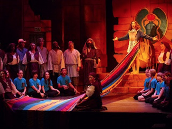 Joseph and the Amazing Technicolor Dreamcoat at Tacoma Musical Playhouse 2012    Photo courtesy of Kat Dollarhide