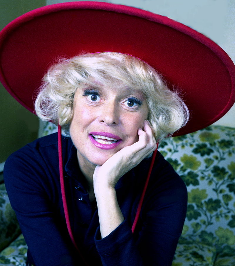 """colour portrait Carol Channing""   by  Allan Warren  is licensed under  CC BY-SA 3.0"