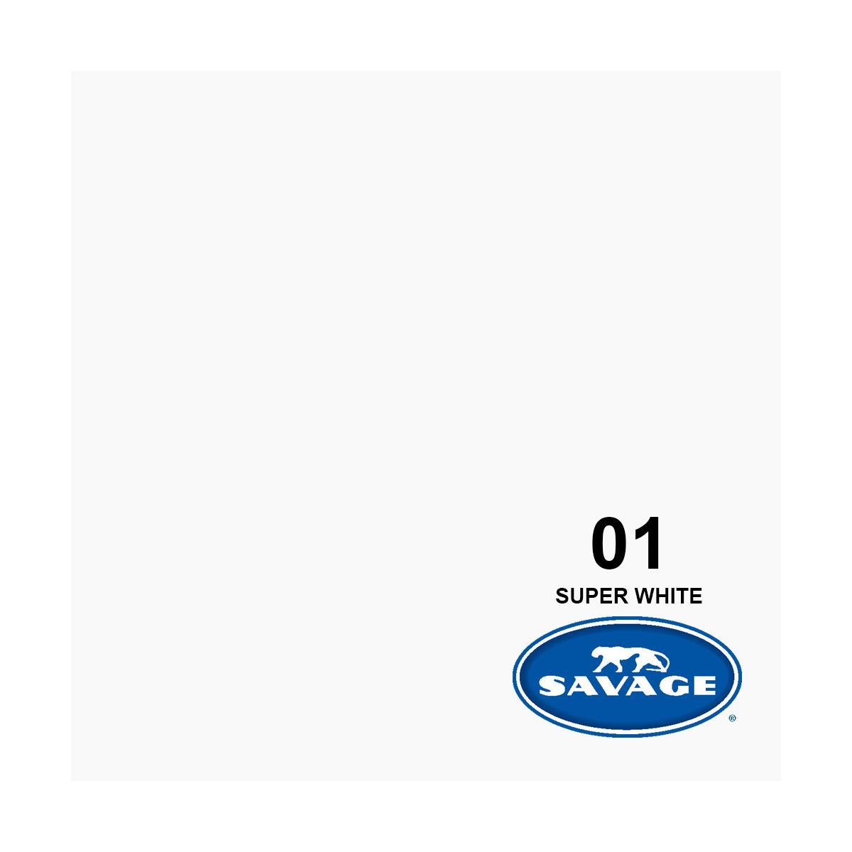 9'w white seamless