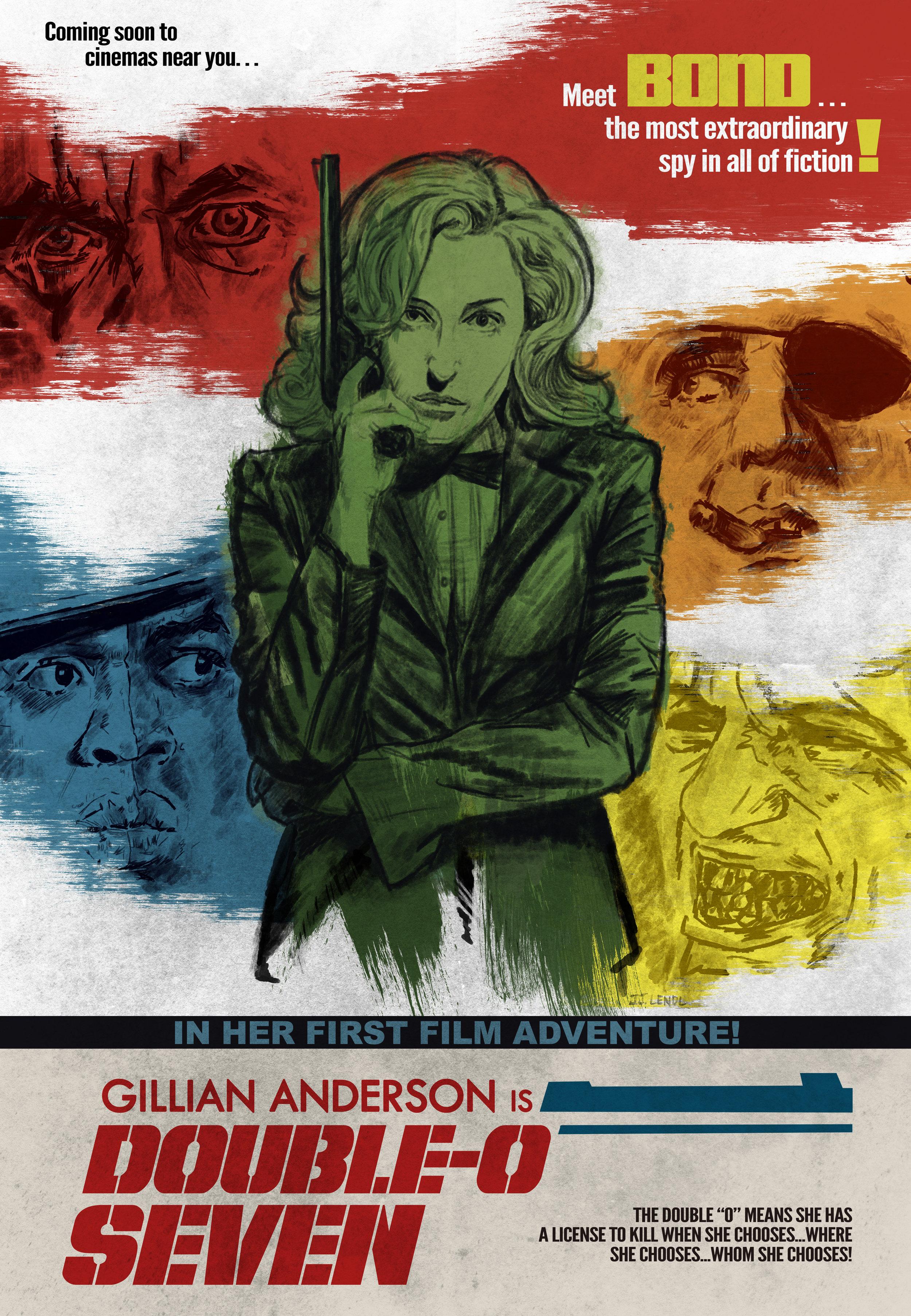 Gillian as 007