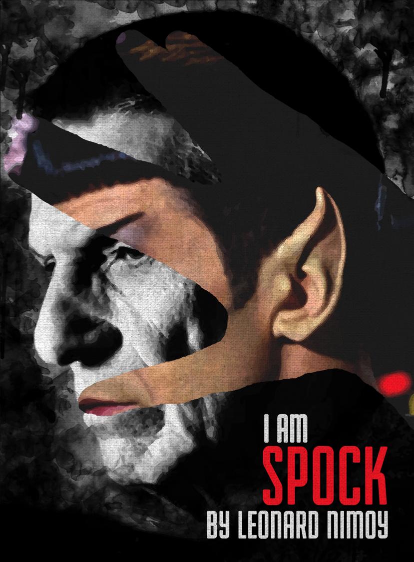 I Am Spock - Nimoy Memorial Cover