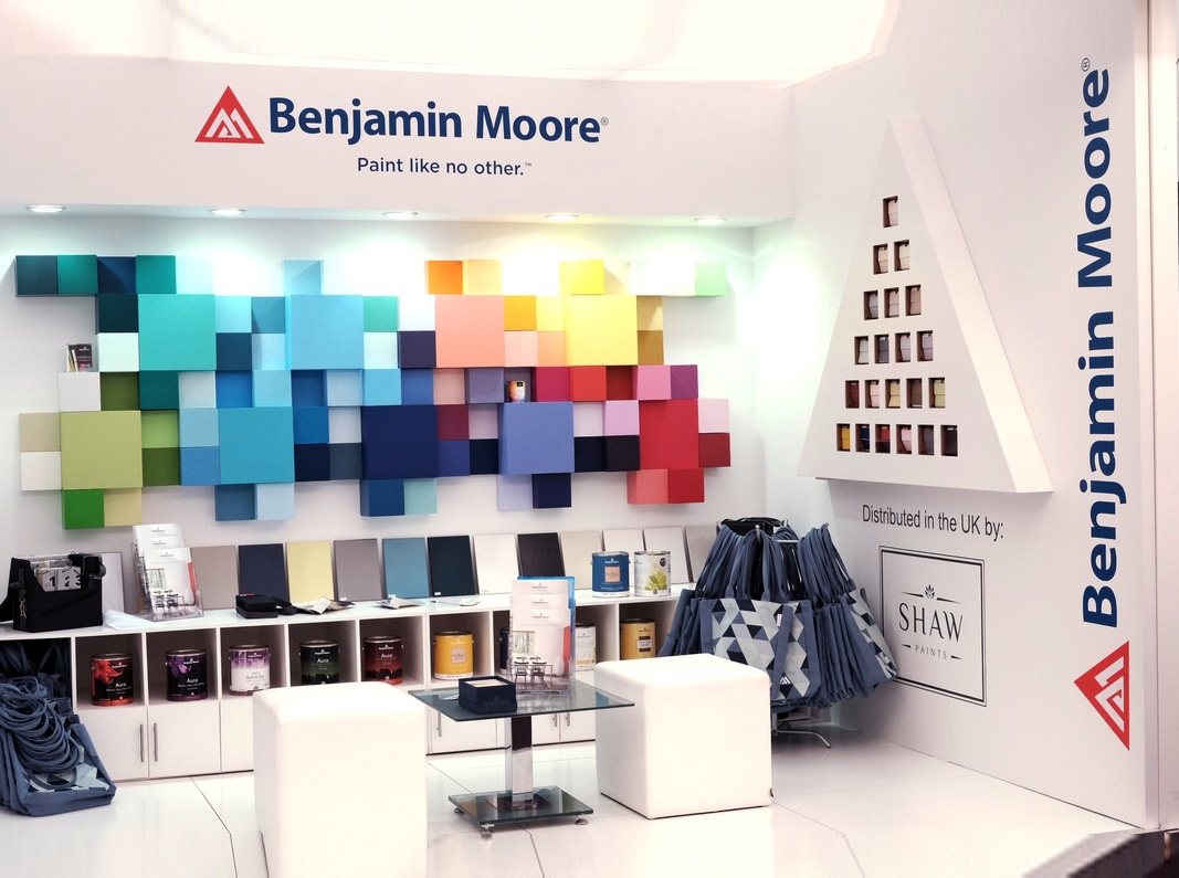 Benjamin Moore Booth, London