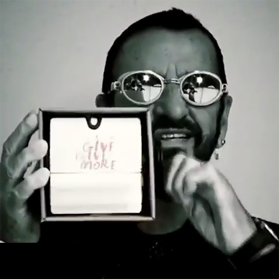 Ringo Starr - FlipBooks in Video