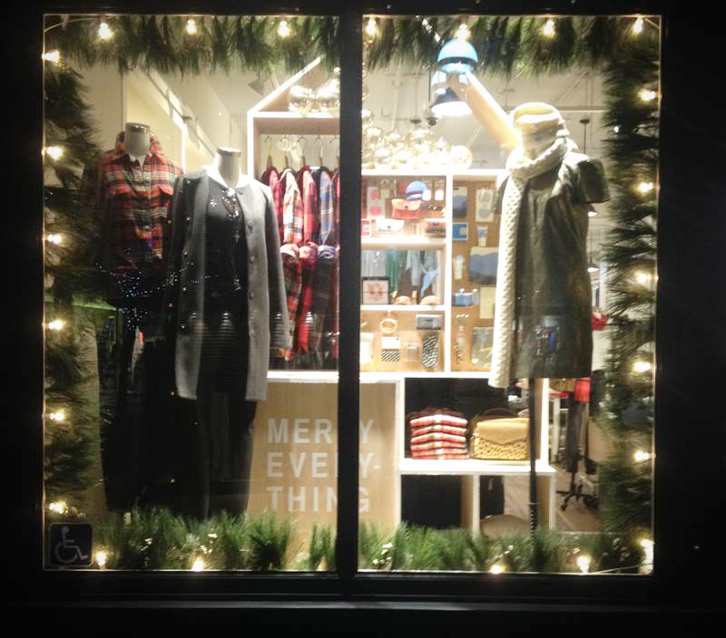 Madewell Store Fronts, NYC