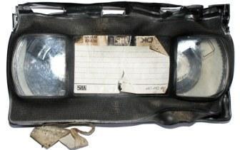 Fire Damaged VHS Tape