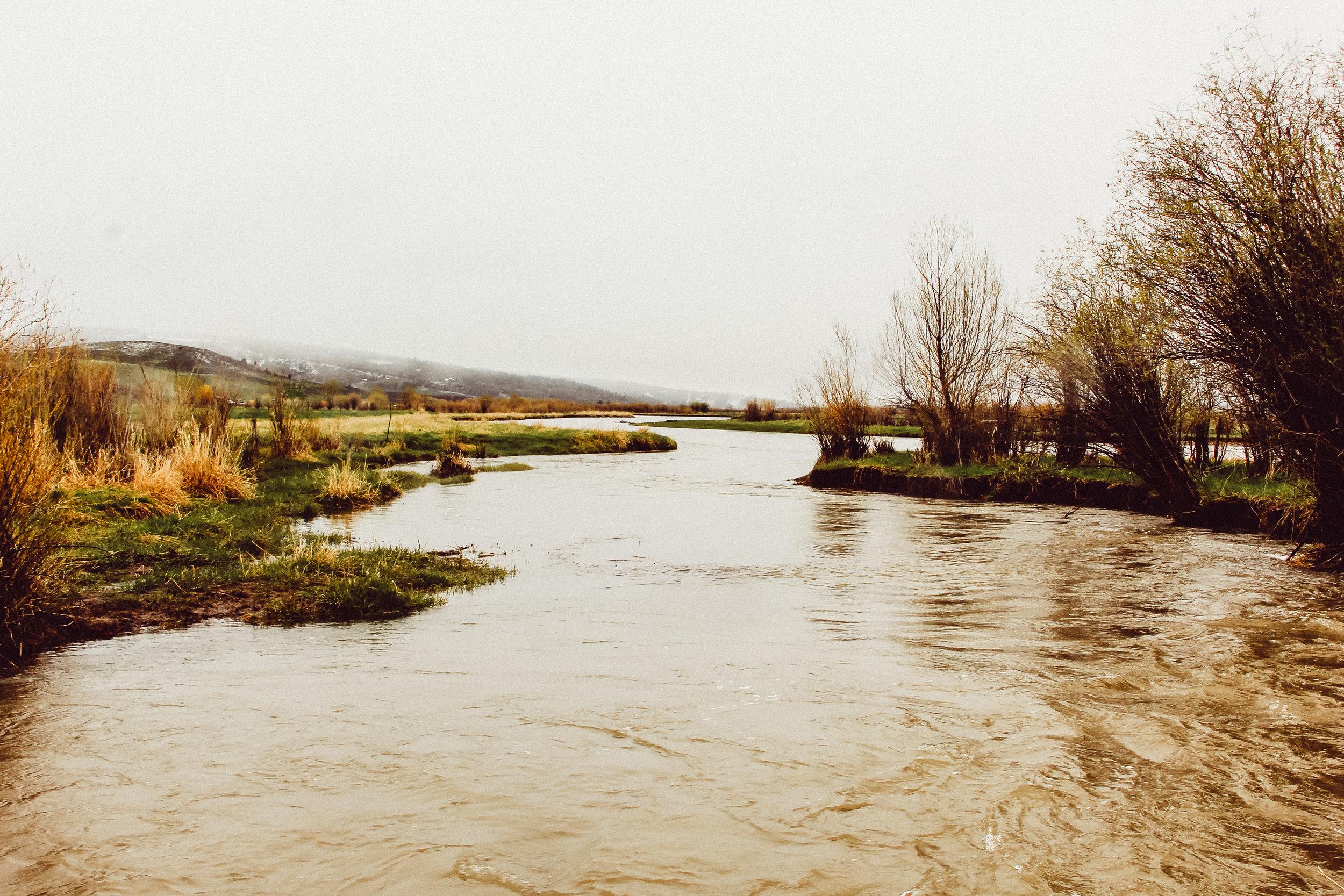 Jackknife Creek connecting to the Salt River