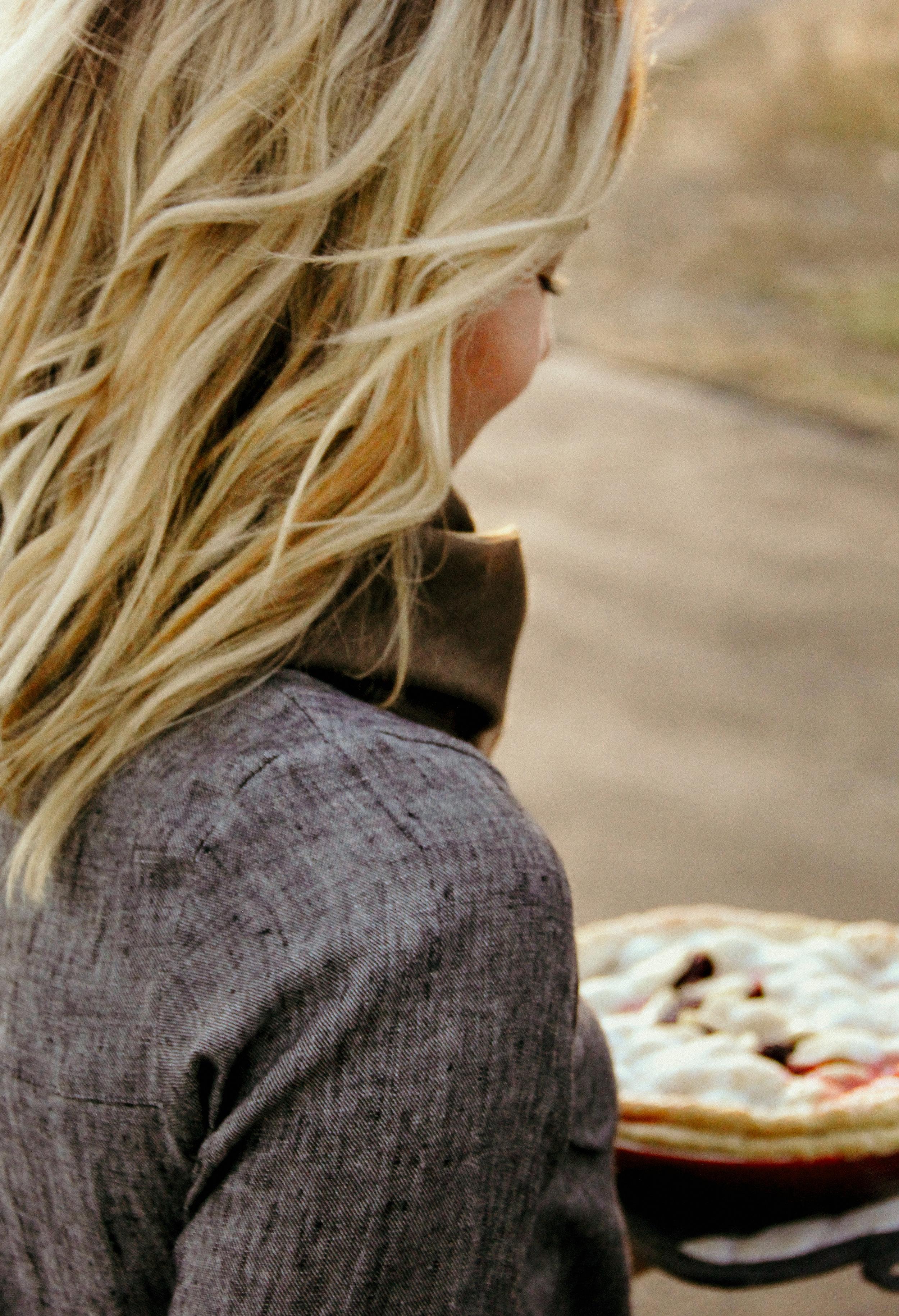 Handmade linen dress by Pyne & Smith Clothiers, California