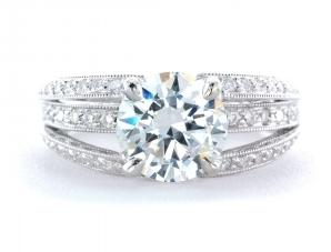 Antique Diamond Solitare