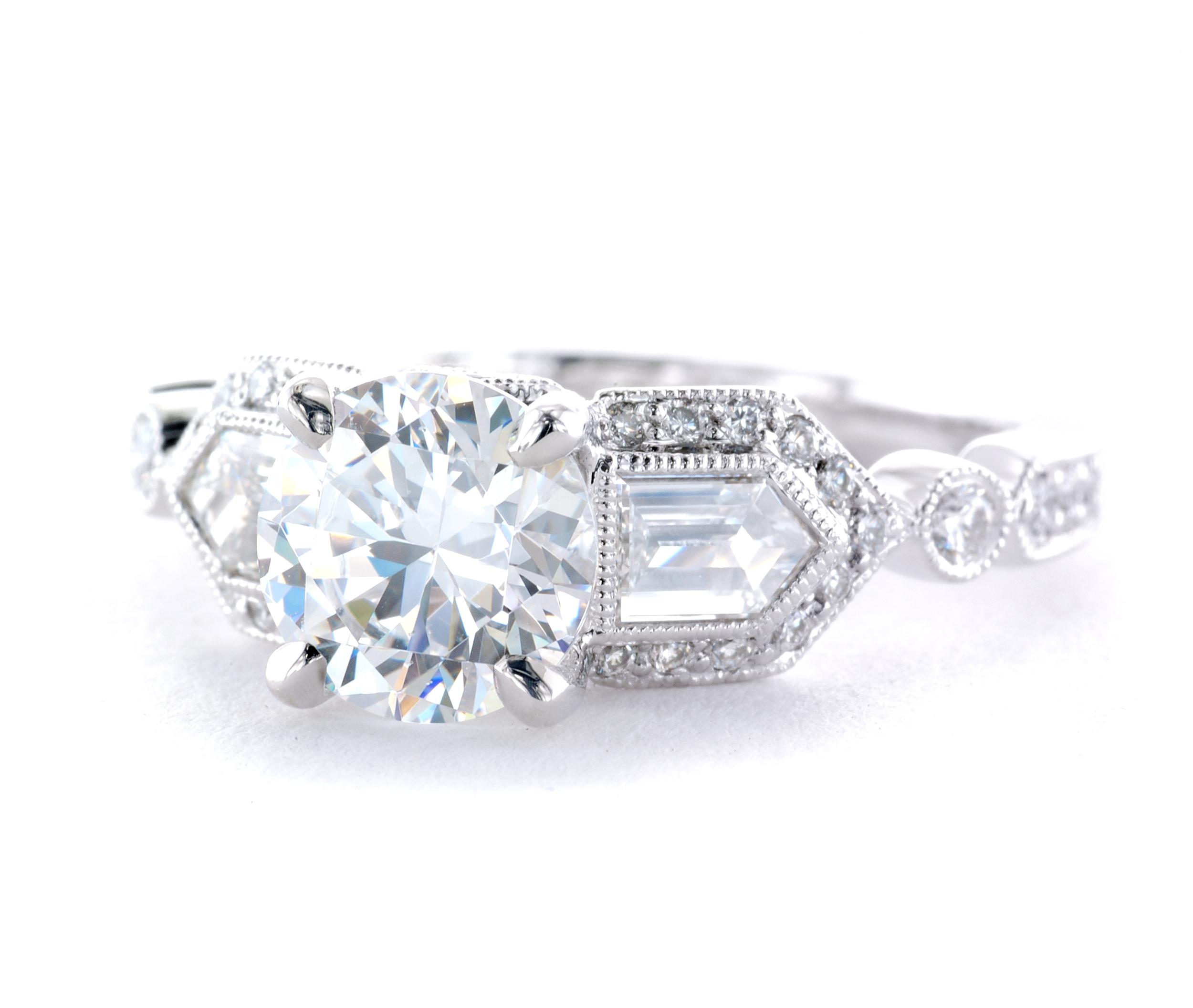 Custom Engagement Ring Diamonds