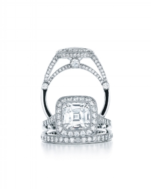 Custom Jewellery - Diamond Halo Engagement Ring