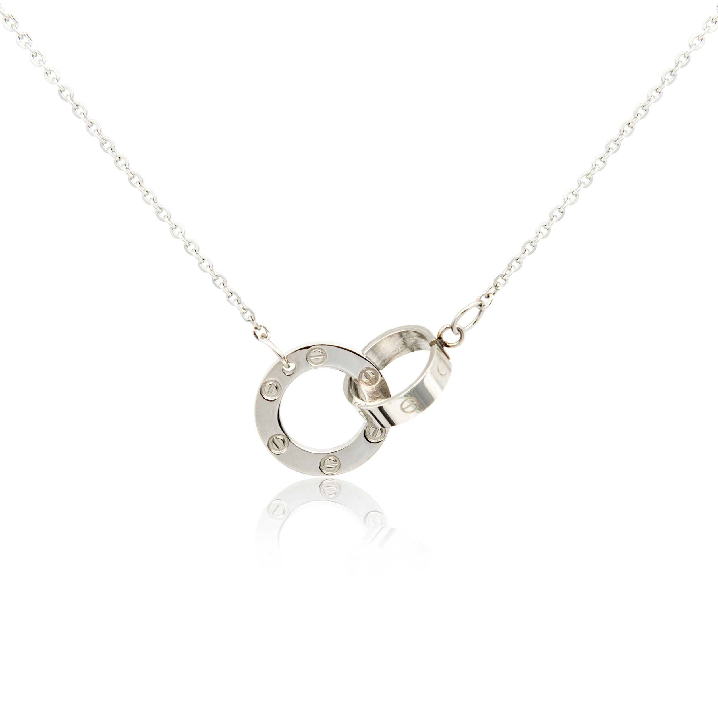Whitegold Necklace