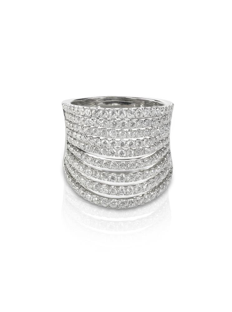 Designer Multi Row Diamond Band