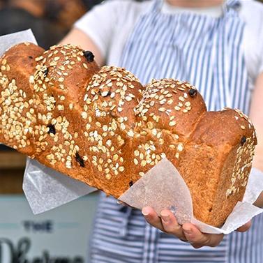 Clear Flour Bread -
