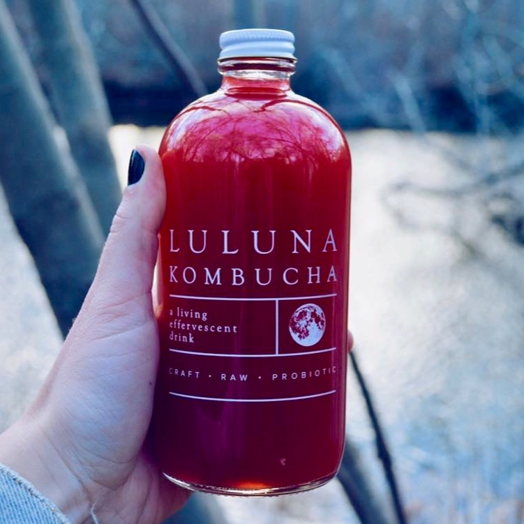 Luluna kombucha -