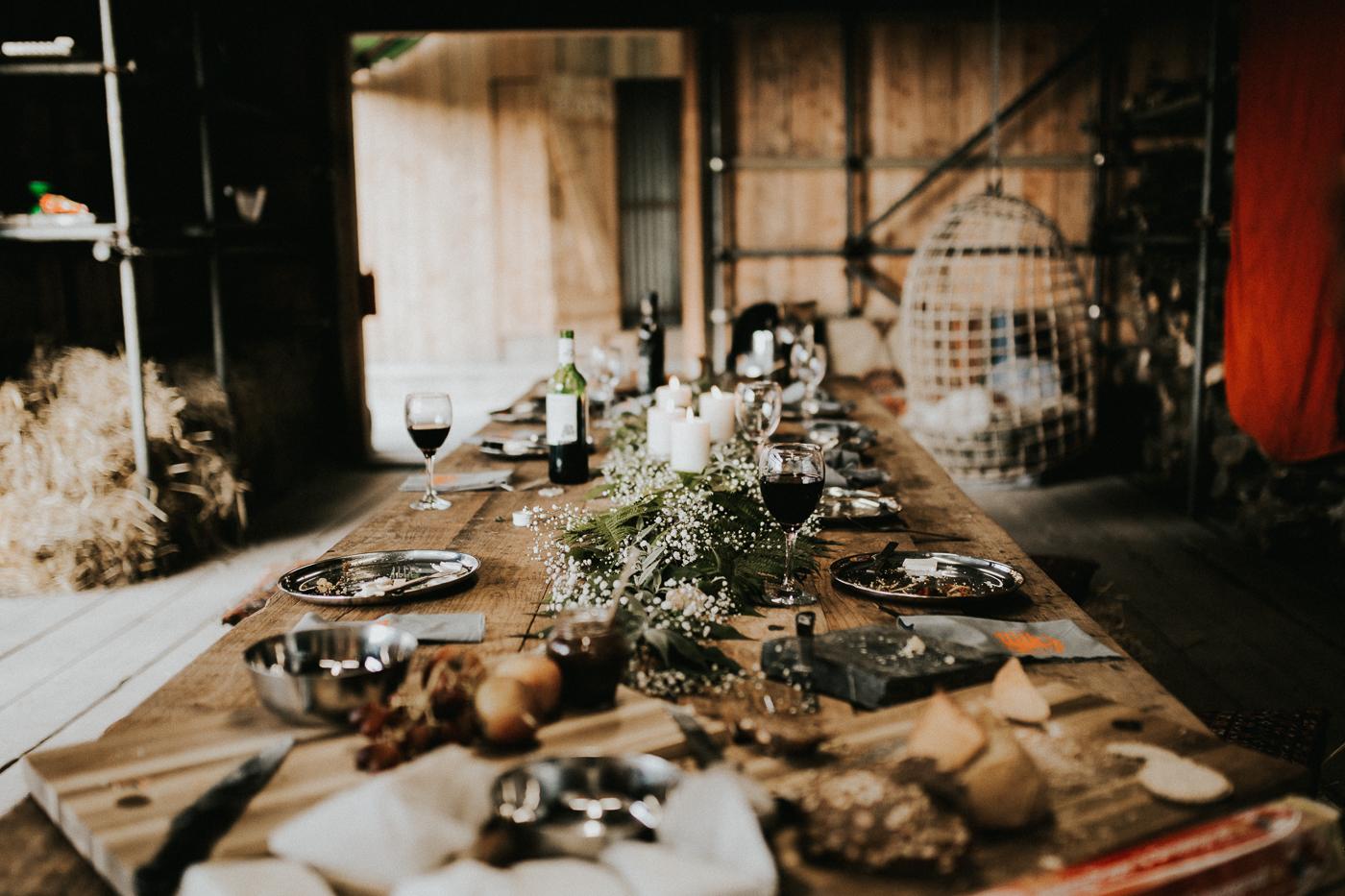 Post wedding banquet shoot.