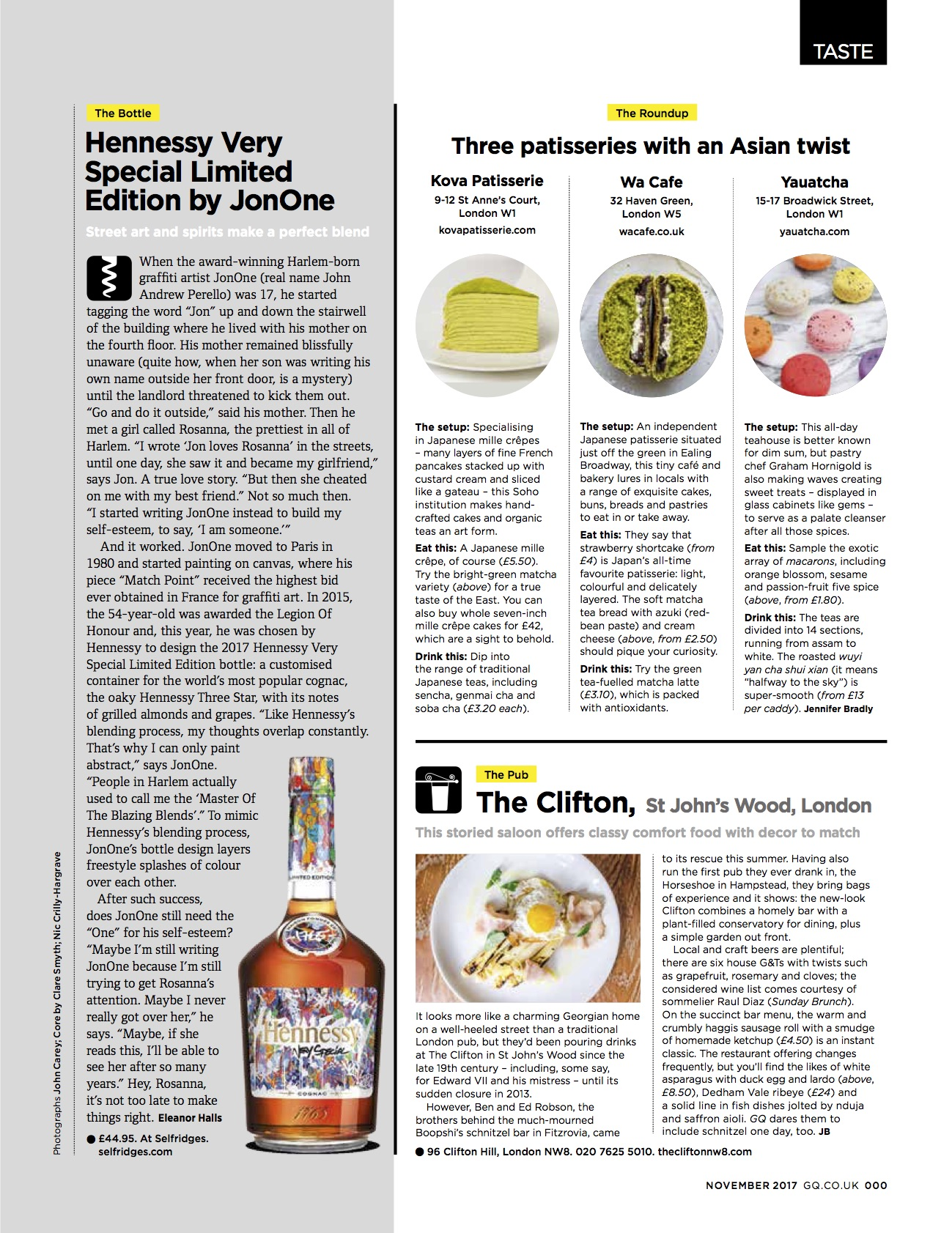 GQ Magazine - London, UK -